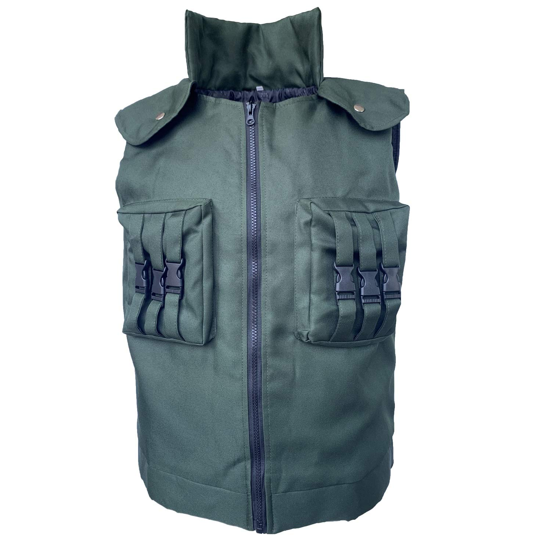 Xfang Men's Cosplay Costume High Density Cotton Vest