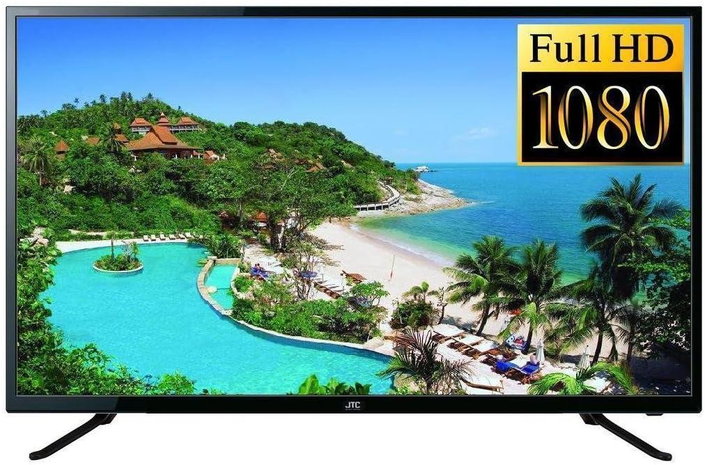 JTC 40 pulgadas TV Full HD LED (aprox. 102 cm Pantalla) nuevo modelo gs440, sintonizador triple, televisor Recibe señales de satélite, cable, DVB-T y DVB-T2 sin adicional Receptor. DTV Sistema: DVB-S, S2,