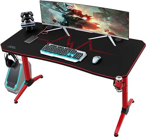 KaiMeng Gaming Desk 55 Inch PC Computer Game Desk
