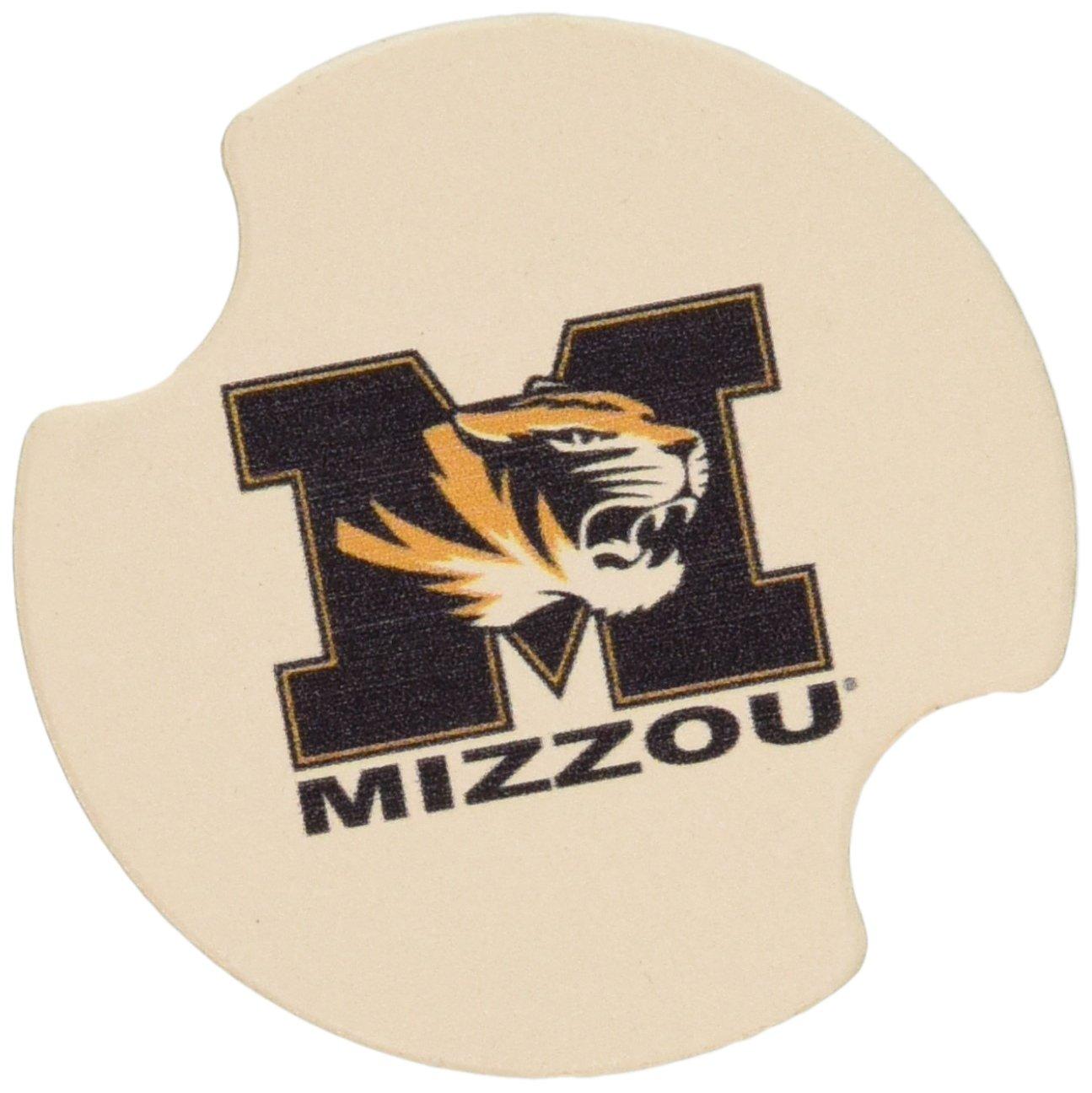 Thirstystone University of Missouri Car Cup Holder Coaster 2-Pack