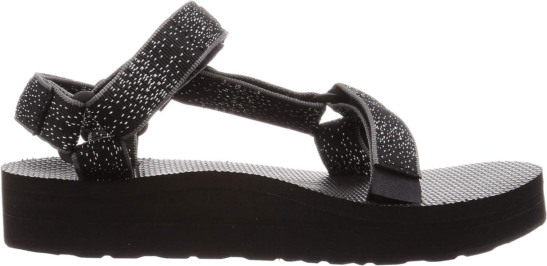 Teva Midform Universal Sandal Womens, Femme Constellation Noire