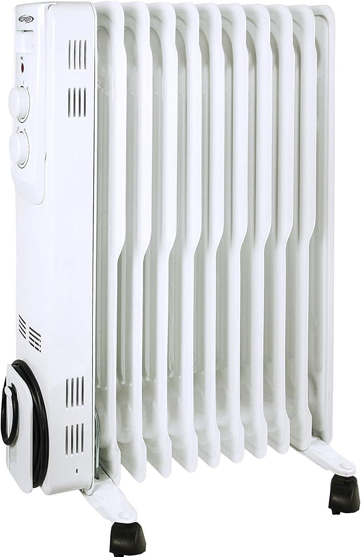 ARGO 191150021 Radiador de aceite Mineral diatérmico, Color blanco: Amazon.es: Bricolaje y herramientas