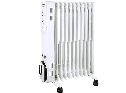 ARGO 191150021 Radiador de aceite Mineral diatérmico, Color blanco
