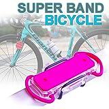 オートバイ 自転車スマホホルダー 携帯スタンド 取り付け簡単 アクセサリーマウント ハンドルマウント カメラマウント 自転車 マルチユースサイクルマウント 安心固定力 特殊ラバー採用 二重保護 脱落防止 iPhone Android全対応