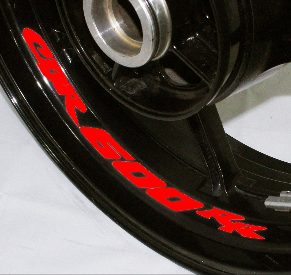 AFBA Honda CBR600RR Inner Rim Motorcycle Sticker Decal Stripe Gloss Red