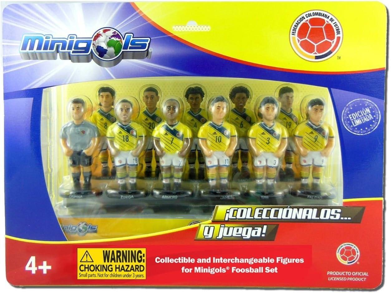 Figuras de equipo para futbolín Minigols - 5COL-2014-2: Amazon.es ...