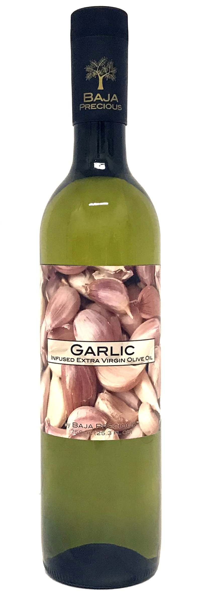 Baja Precious - Glorious Garlic Infused Extra Virgin Olive Oil (750ml Bottle)