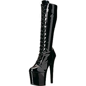 1c51754133ce Pleaser Women s Taboo-2023 Knee High Boot