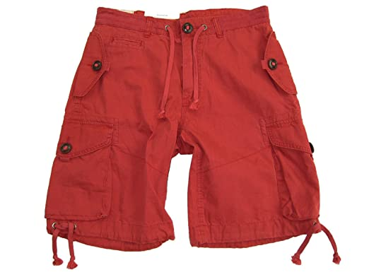 056a49d95 low price ralph lauren polo mens multi pocket cargo shorts red medium a23a8  917b4