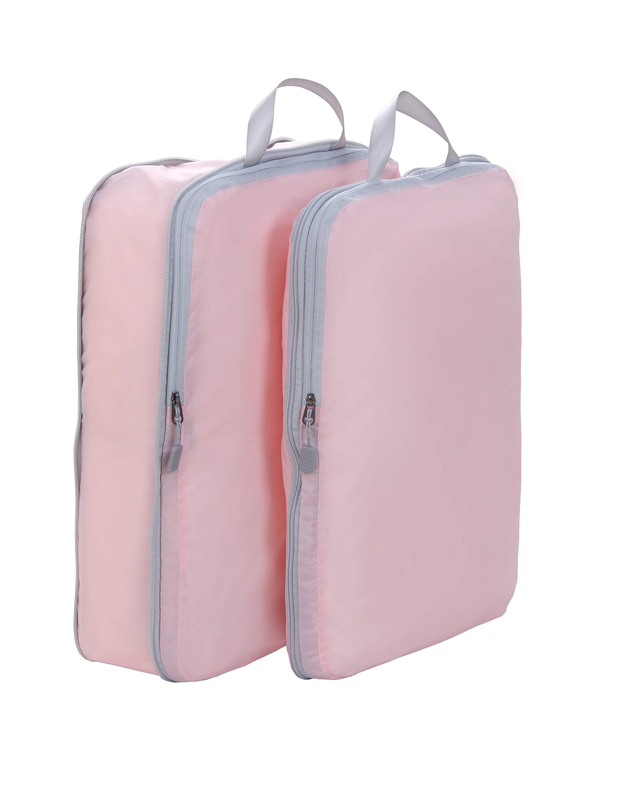 Compression Packing Cubes, JJ POWER Travel Backpack Organizers X-Large 2 Set (Two set- Pink)