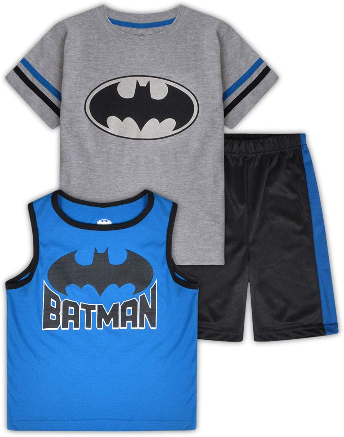 Boys Character Short T Shirt Vest 3PC Outfit Set 1-7 Years EX Store