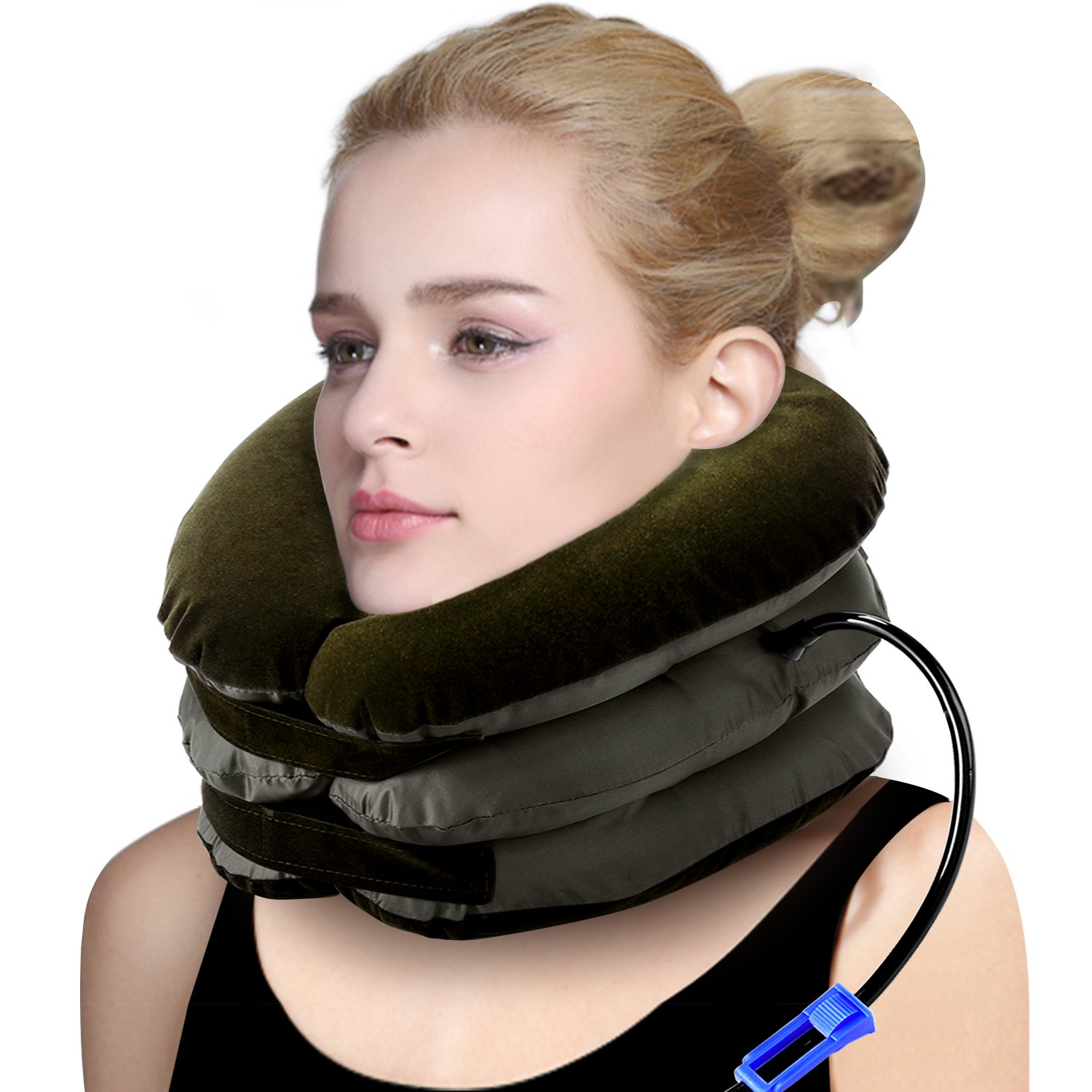 P PURNEAT Cervical Neck Traction Device – Instant Pain Relief for Chronic Neck and Shoulder Pain – Effective Alternate Pain Relieving