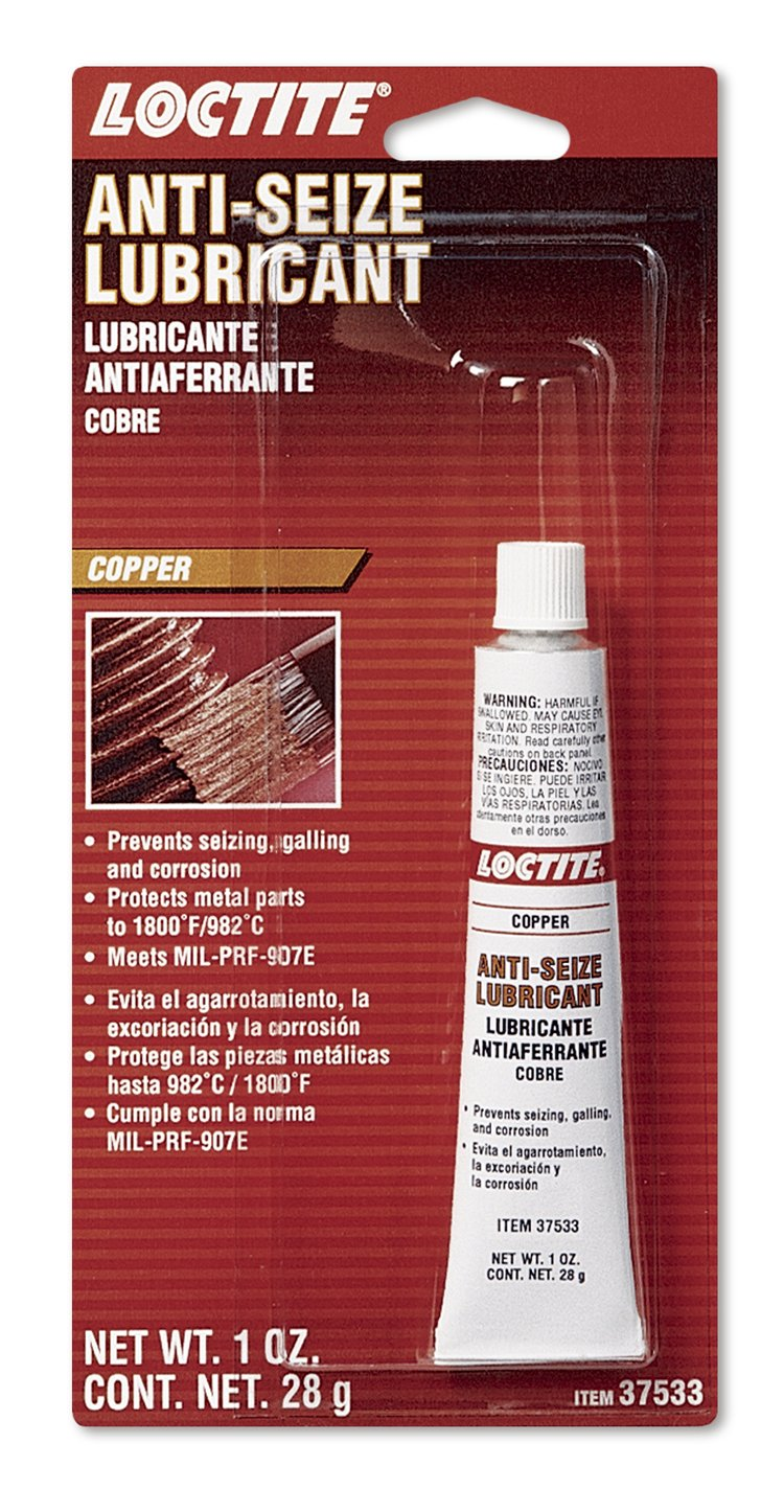 Loctite 495542 Copper Anti-Seize Lubricant Tube, 1-oz.