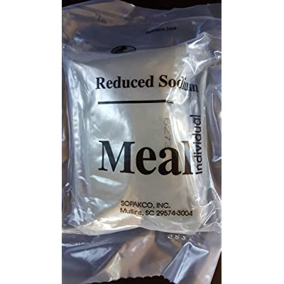 2020 MRE Spaghetti with Beef and Sauce Meals Ready To Eat Sopakco Sure Pack Reduced Sodium Survival Food Storage Military Grade - Buy 3 Get 1 Free: Grocery & Gourmet Food