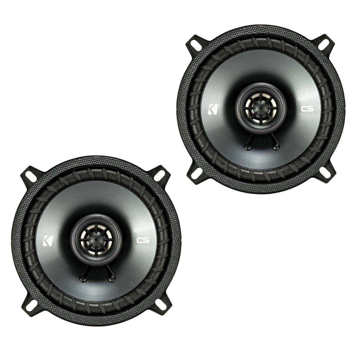 Kicker CSC5 5.25'' 225W 2 Way 4 Ohm Coaxial Car Audio Speakers, Pair | 43CSC54