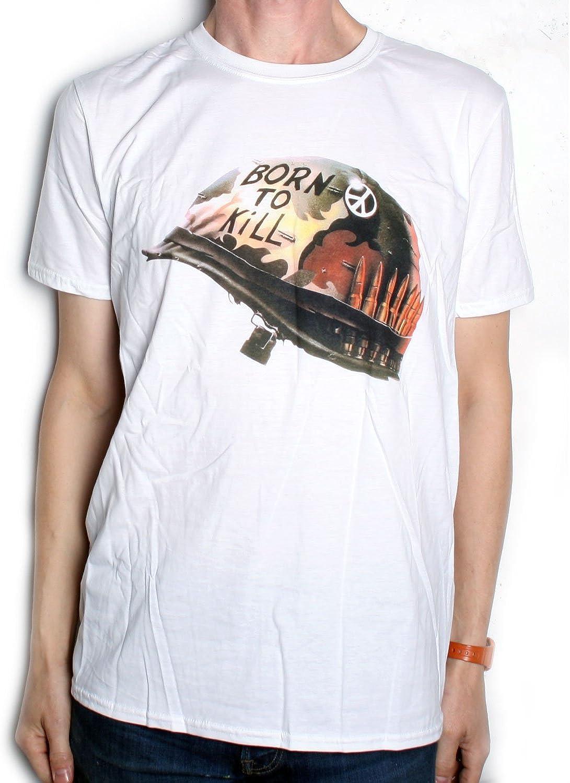 Blanc T-Shirt Full Metal Jacket /'Helmet/'
