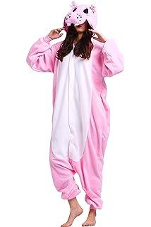 83cd9e1308961 Magicmode Unisexe Bande Dessinée Grenouillère Cosplay Pyjamas Anime Animaux  Costumes Adultes Hoodie Kigurumi Vêtements De Nuit