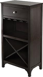 Winsome 92745 Ancona Wine Storage, Dark Espresso