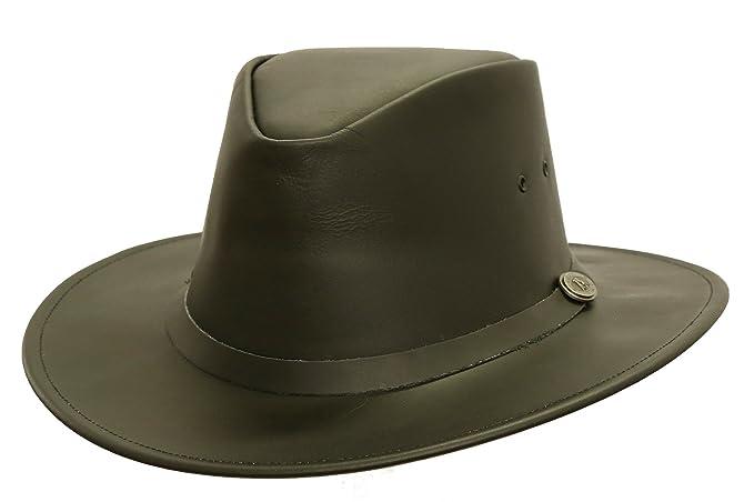 Kakadu Australia Praha Leather Hat  2cbe794102e