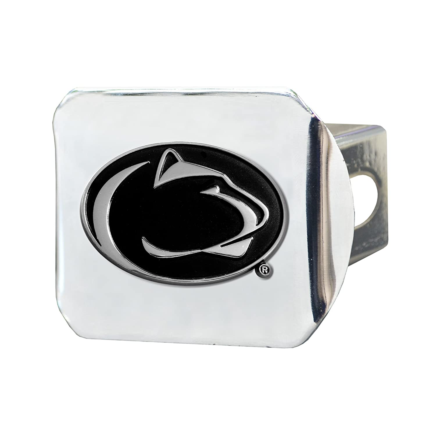 FANMATS 15088 NCAA Penn State Nittany Lions Chrome Hitch Cover