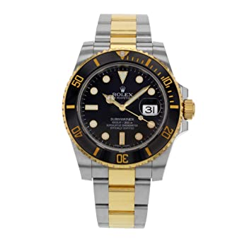4495bf95092 Amazon.com  Rolex Oyster Perpetual Submariner Date 116613  Rolex ...