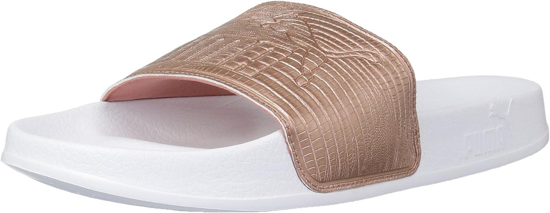 PUMA Women's Leadcat Leather Wn Slide Sandal