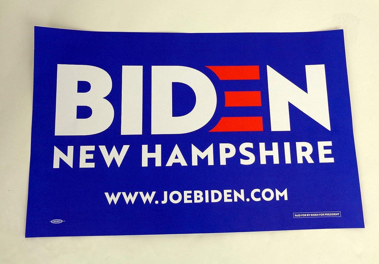 Amazon Com Joe Biden For President 2020 Official Campaign Rally Sign Poster C Entertainment Collectibles