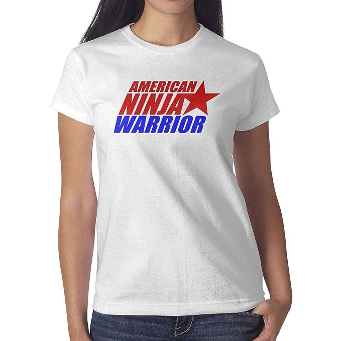Amazon.com: Funny T Shirt for Women American-Ninja-Warrior ...