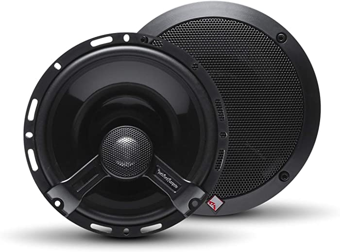 "Rockford Fosgate T1650 Power 6.5"" 2-Way Full Range Euro Fit Compatible Speaker (Pair)"