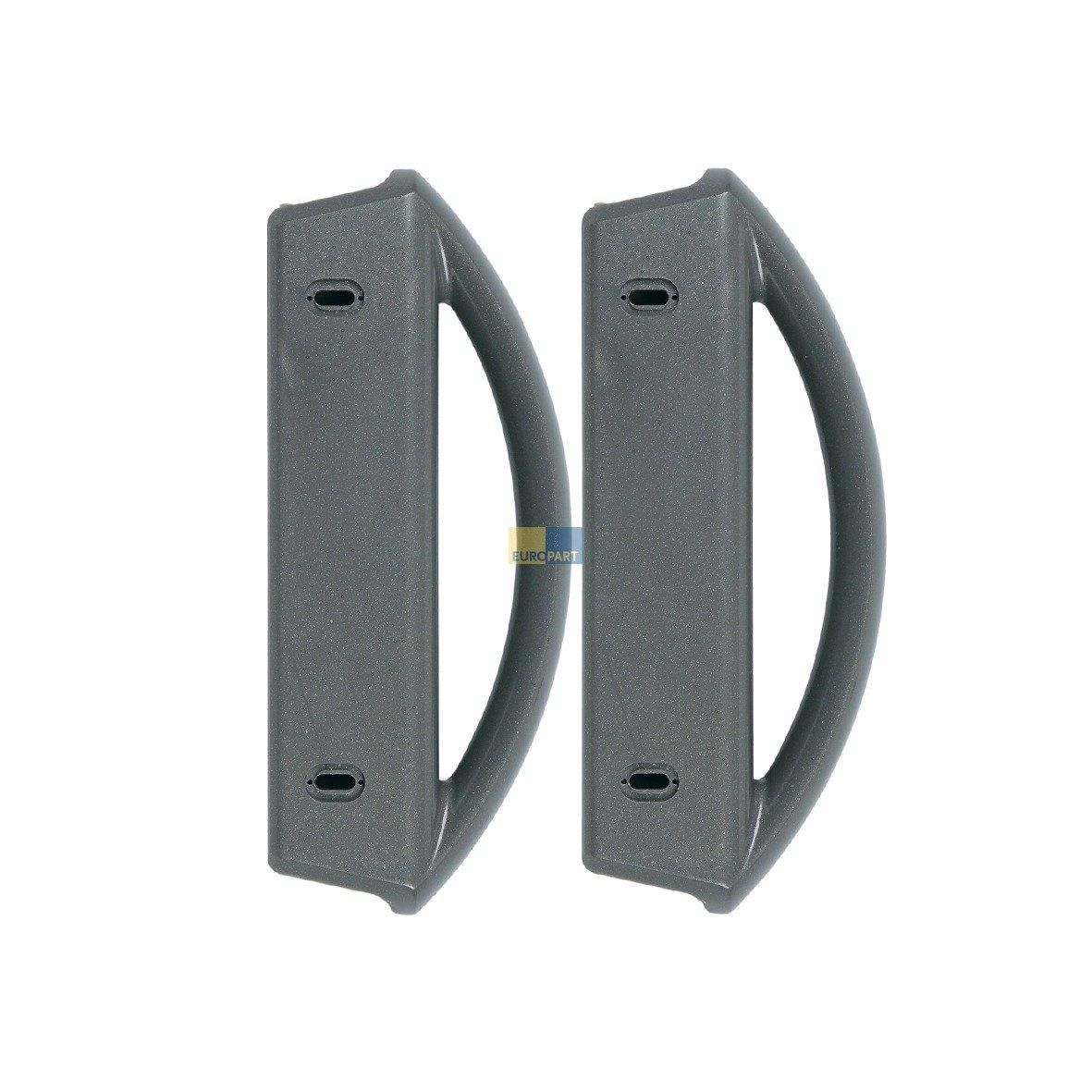 Electrolux AEG 50299864004 ORIGINAL T/ürgriff Handgriff Griff T/ür/öffner /Öffner 2 St/ück K/ühlschrank auch Zanker