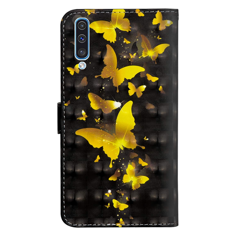 Dclbo H/ülle f/ür Samsung Galaxy A50S // A50 // A30S Handyh/ülle Tasche Schutzh/ülle Leder Brieftasche Case Bunt H/ülle Flip Klapph/ülle Handytasche f/ür Galaxy A50S // A50 // A30S -7 Muster Nicht f/ür A30