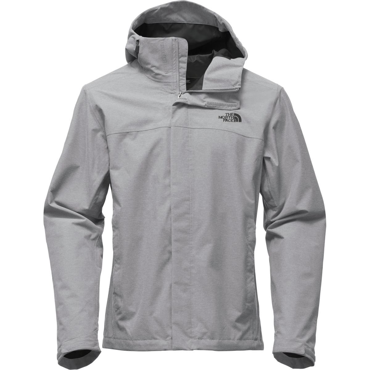 The North Face Men's Venture 2 Jacket Tall - Mid Grey Ripstop Heather/Mid Grey Ripstop Heather - L (Past Season) by The North Face