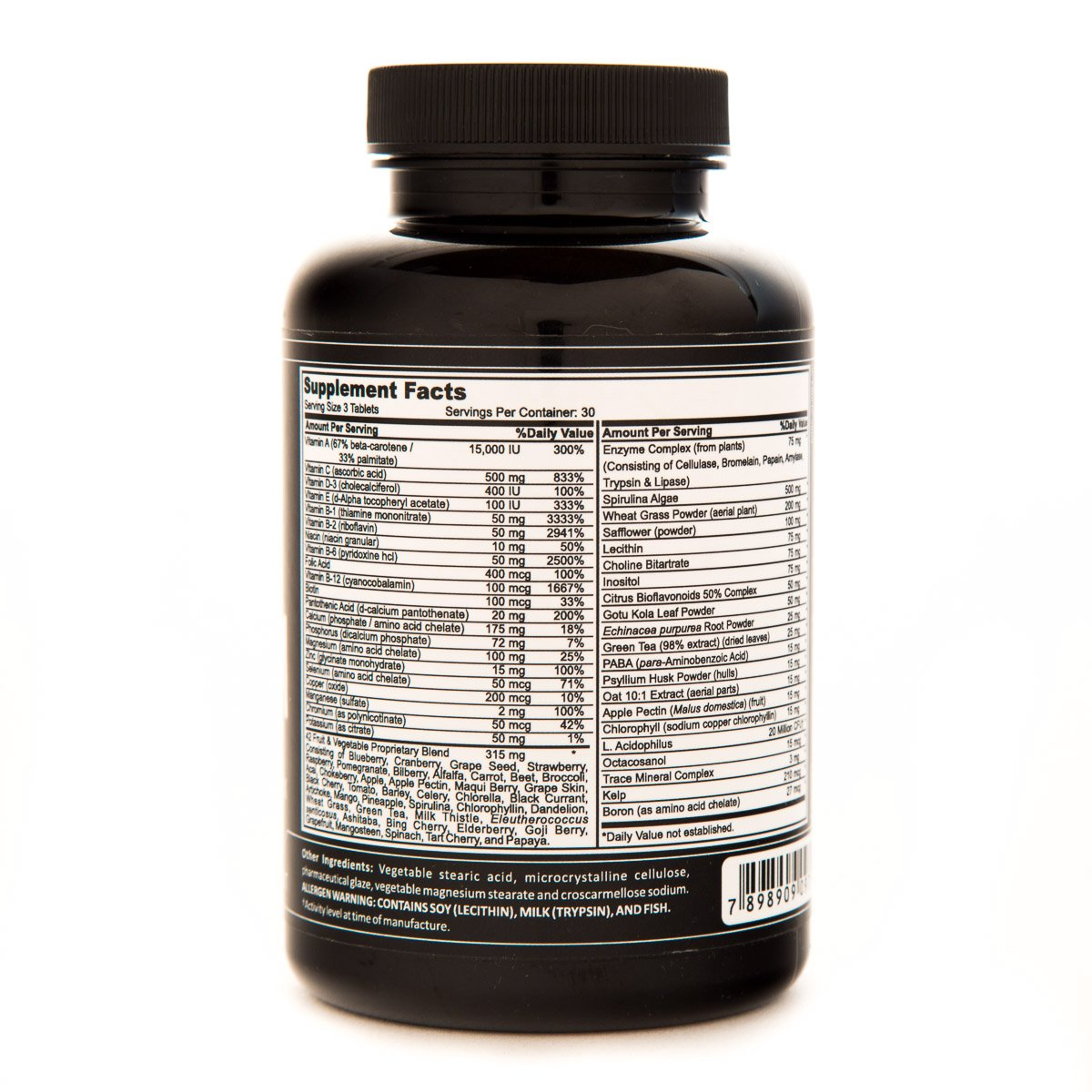 Amazon.com: Daily Mutivitamin and Mineral Complex -USA Made- General Health - GMP Certified - 90 Tablets: Health & Personal Care