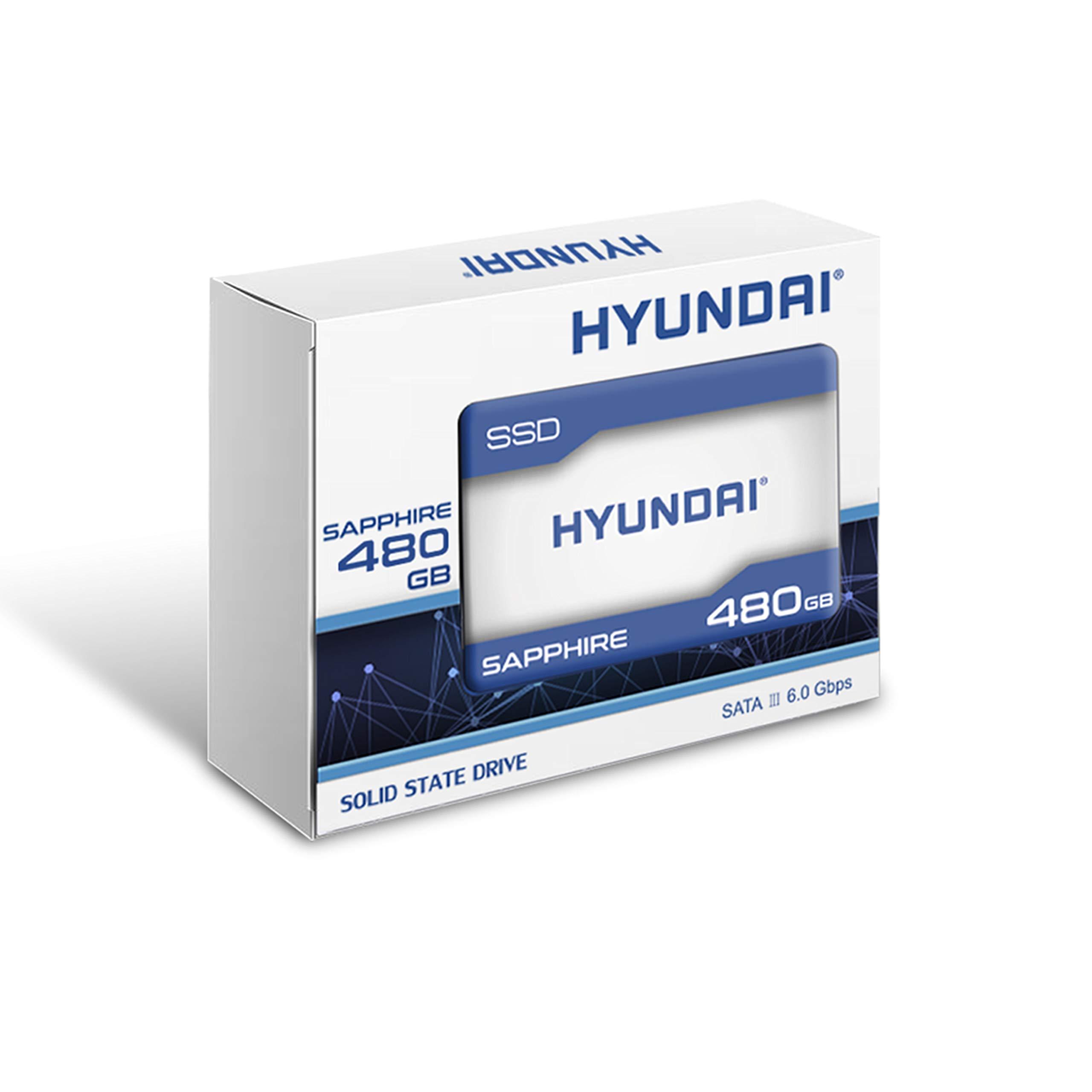 Hyundai Sapphire 480GB Internal SSD SATA III, TLC, 2.5'' (C2S3T/480G)