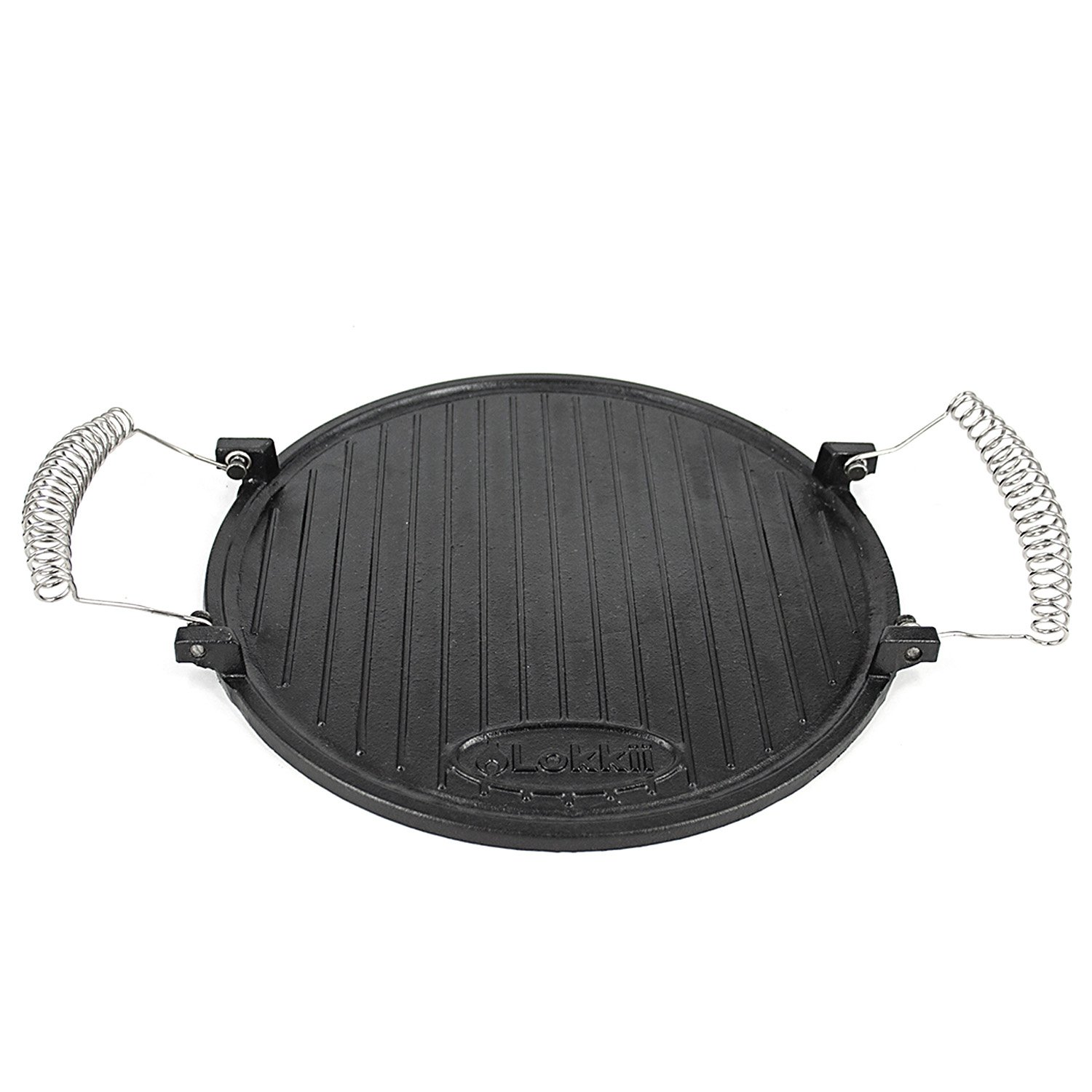 Lokkii CIC2 Cast Iron Hot Plate for All Perfection Kettle BBQ's - Black Great Harbour Holdings Ltd