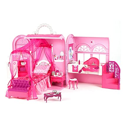 Barbie Glam Bed And Bath