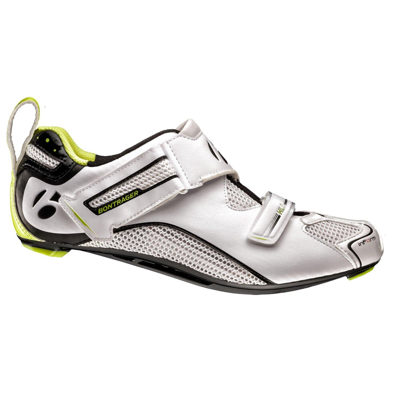 Bontrager Hilo Rennrad Fahrrad Schuhe weiß 2019