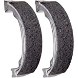 Rear Brake Shoe Plate Panel /& Rear Brake Shoes for Compatible with Honda TRX 250 Recon