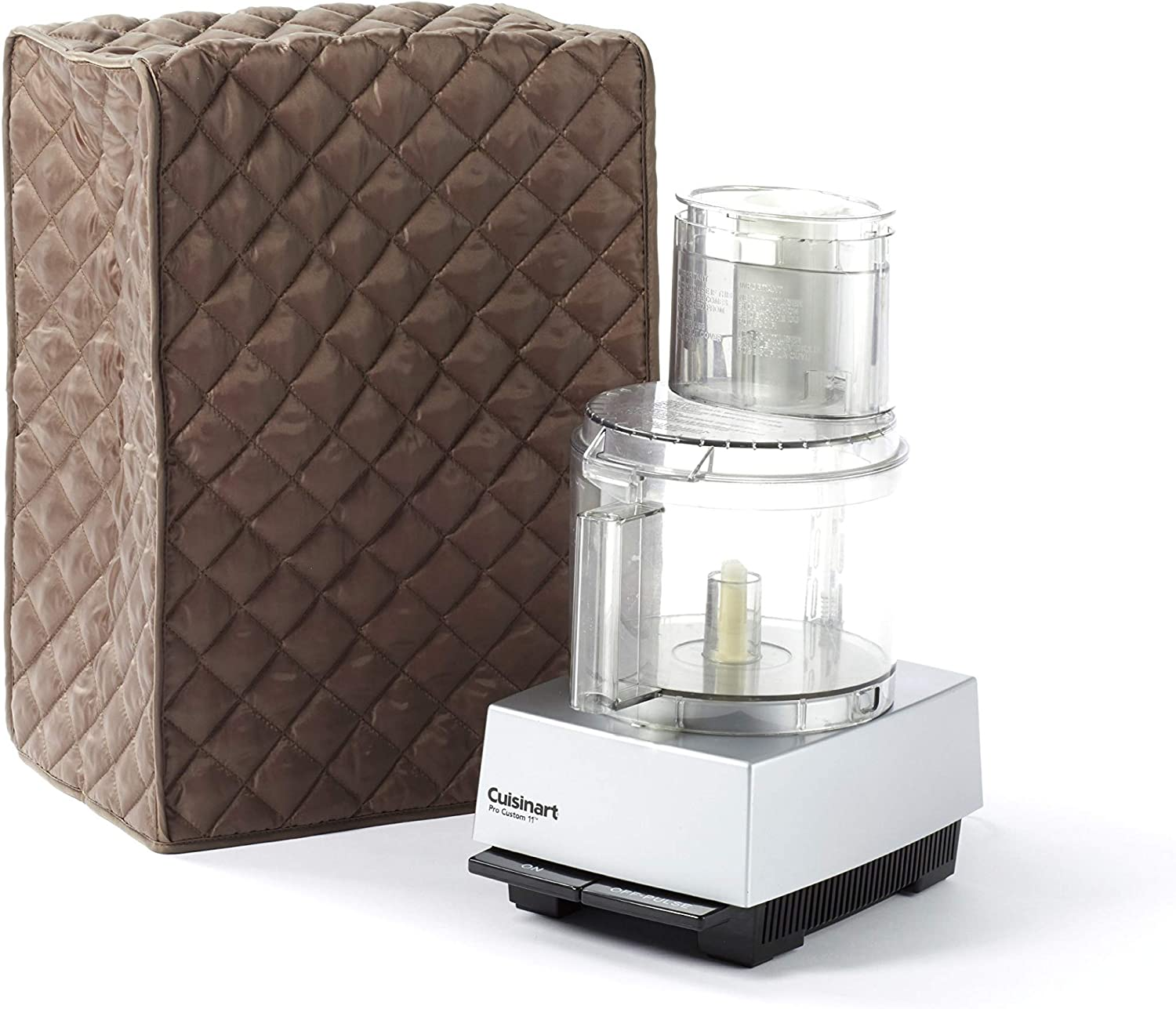 Covermates Food Processor Cover 11W x 9D x 15H Diamond Collection 2 YR Warranty Year Around Protection – Bronze
