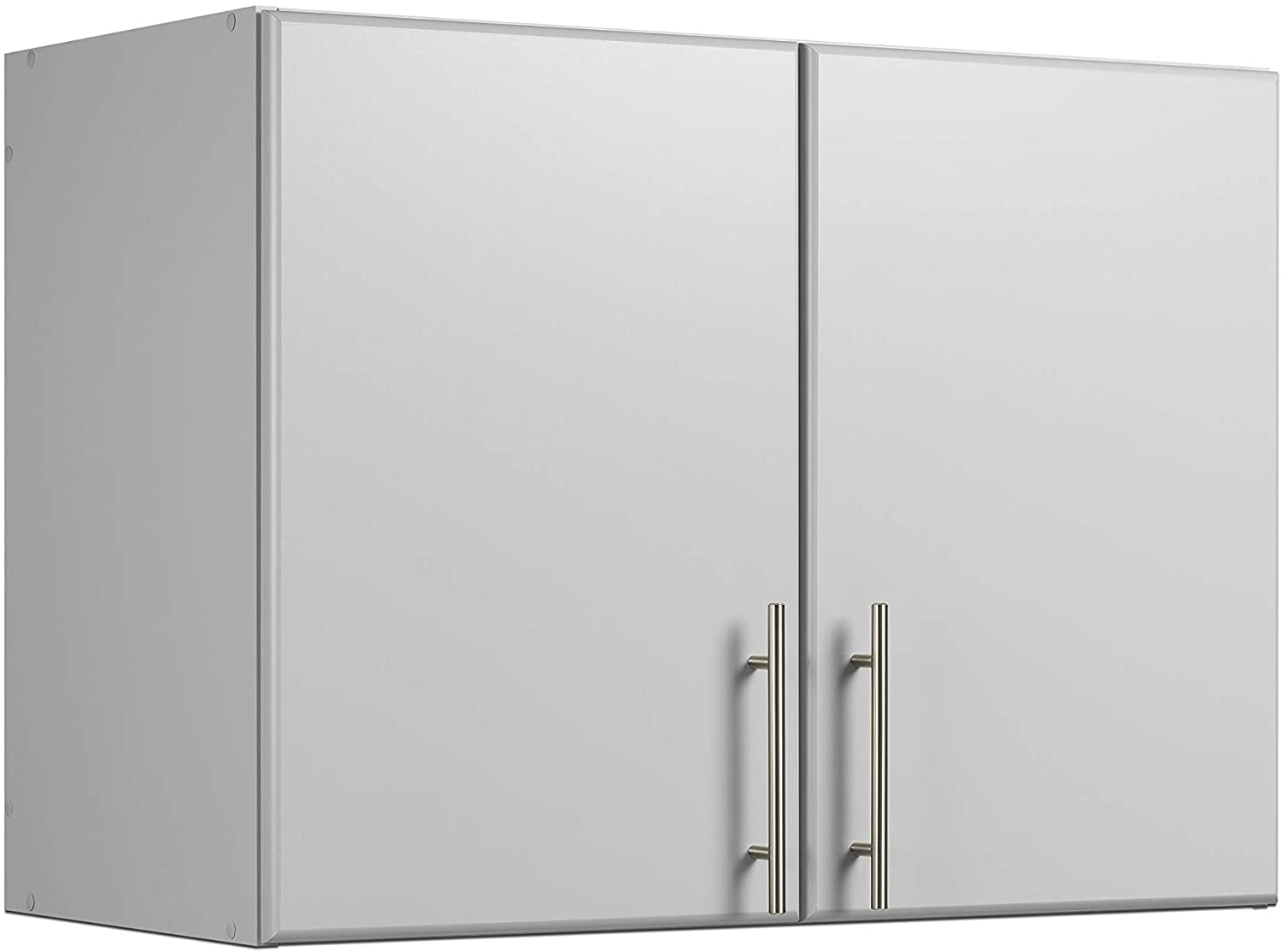 "Prepac 32"" Stackable Wall Cabinet, Elite, Light Gray"