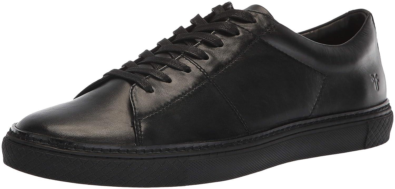 Black 1 Frye Mens Essex Low Folded Edge Sneaker