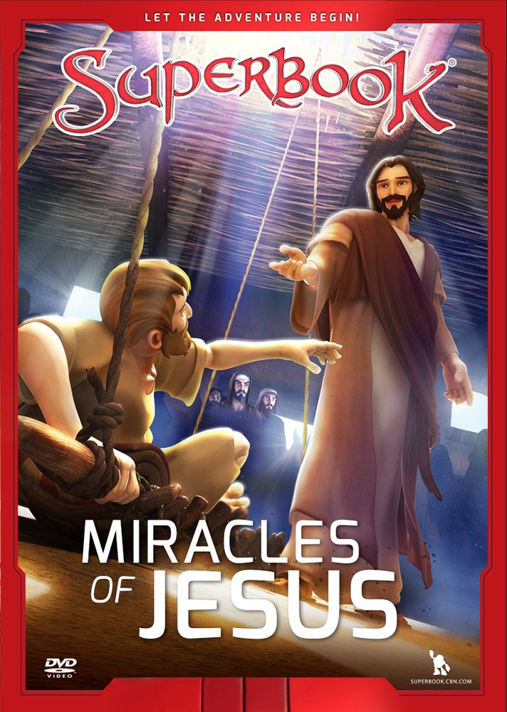 The Miracles of Jesus: True Miracles Come Only From God Superbook CBN Charisma House Non-Classifiable