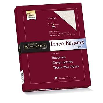 Charming Southworth 100% Cotton Résumé Paper, 8.5u201d X 11u0026quot;, 32 Lb.  Resume Paper