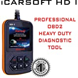 iCarsoft Heavy Duty Diagnostic Tool Scanner HD...