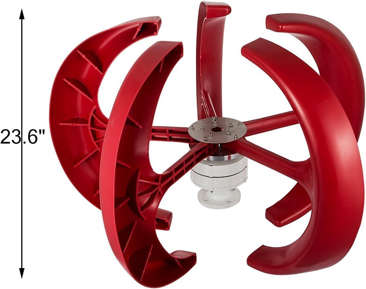 AYNEFY Wind Turbines,Windkraftanlage 12V 3-Blatt-Windturbinengenerator-Kit zur Stromerzeugung