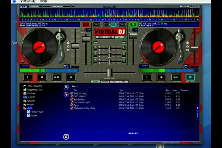 Using Virtual DJ's Equalizer