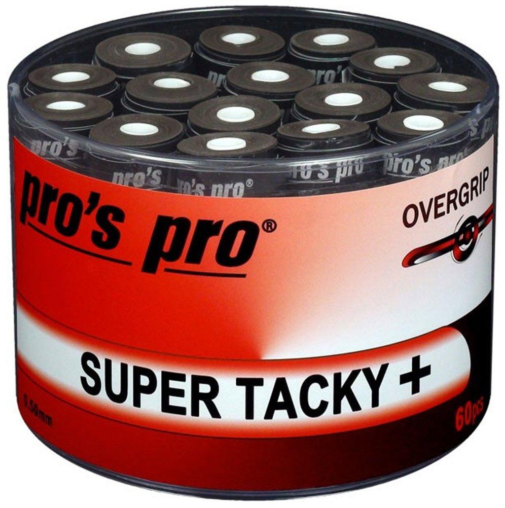 Pros Pro Super Tacky - Cinta para mango de raqueta de tenis, color negro product