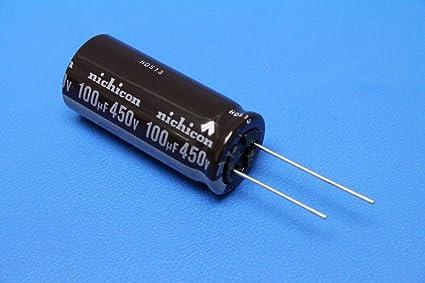 UPH2W121MHD Capacitor electrolytic THT 120uF 450V /Ø16x40mm Pitch7.5mm NICHICON