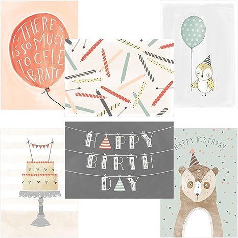 Amazon.com: 60 tarjetas postales cumpleaños de sharla fults ...