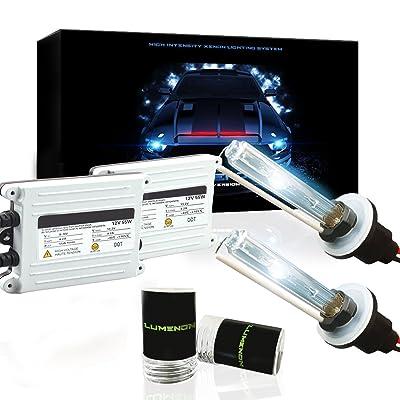 Lumenon 55w HID Kit 2 Year Warranty (9006 HB4, 10000K Ocean Blue): Automotive